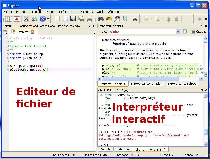 1 Introduction A Python Et Son Environnement Python Scientifique